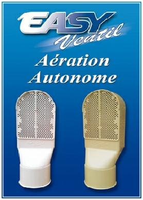 Easyventil: Aération autonome de vide sanitaire et pièce enterrée